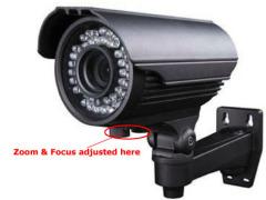 600TVL IR Waterproof camera