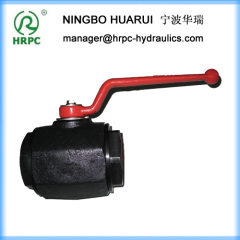 1 inch forged female thread hydraulic 2-way ball valves
