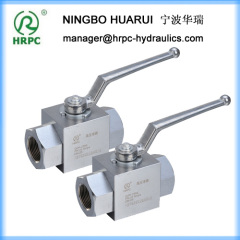 domestic standard high pressure hydraulic threaded ball valves