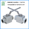 male thread high pressure ball valve of China