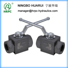 hydraulic system male or female threaded ball valve