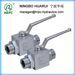 domestic standard two way chromed plated carbon steel ball valve chromed plated