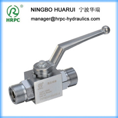 stainless SS316 or SS304 or carbon steel ball valves for hydraulic oil system