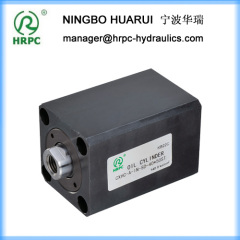 hydraulic system oil compact cylinders used in machinery