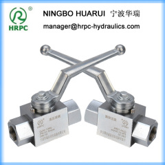 stainless steel 2 way high pressure female gas globe stop valve/ball valve dn40mm