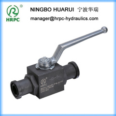 forged China carbon steel 2 way ball valve 2""