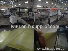 PVC sheeting machine