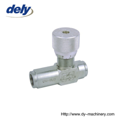 STU hydraulic throttle check valves manufacturers china