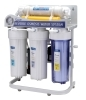 Reverse Osmosis System with pressure gauge