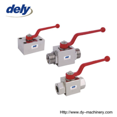 YJZQ Chinese high pressure ball valves