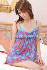 Lovely Young Lady Nightwear