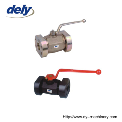 hydraulic flange ball valves