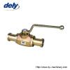 BKH-SAE-FS, MKH-SAE-FS 2 way high pressure ball valve pipe connector