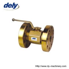 KHBF(KHMF) 2 way carbon steel flanged high pressure ball valve