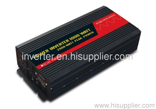 1000W digital readout pure sine wave power inverter