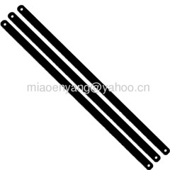 Double metal hacksaw blade