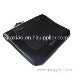 Special anti-slip laptop cooler contact with Knee directy & comfortable
