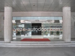 automatic security sliding doors