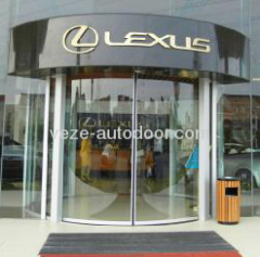 automatic curve sliding doors