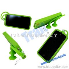 2012 New Golio/GUOGUO/Gampsocleis Inflata Uv Silicone Case for iPhone 4S/iPhone 4 (Green)
