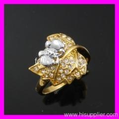 ring jewelry ring crystal ringlady's ring diamond ring