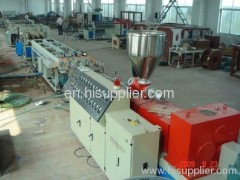 PVC pipe extruder