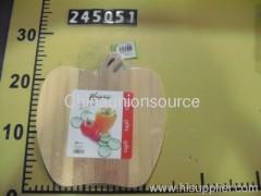 Apple Shape Bamboo Cutting Board