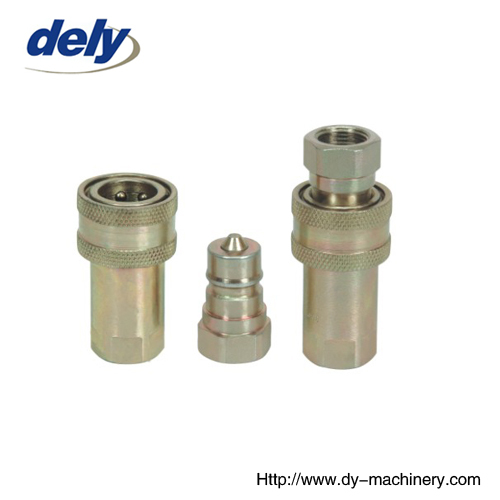 LX-A close type hydraulic quic coupler