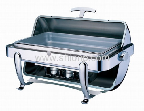 Rectangle chafing dish for buffet use
