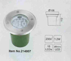 1.2W high quality led underground light