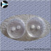 Flate shape Clear button 2H