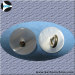 Fashion metal sewing button