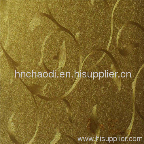 golden flower design laminated pvc wall panel products - China ...