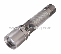 3W High Power Rechargeable Aluminum LED Torch Flashlight