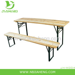 Standard 3-Piece Folding Table and Bench Set