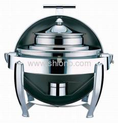 Round Chafing Dish Chafer with Lid