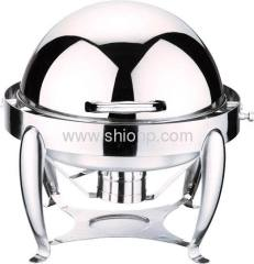 Mini round chafing dishes
