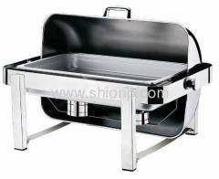 Roll Top Stainless Steel Electric Chafing Dish