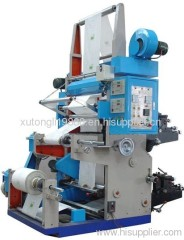 2011 RZGS Series Two-color High Speed Machinery Flexography Digital Photo Printing Machine