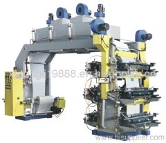 2011 RZGS Series Six-color High Speed Machinery Flexography Digital Photo Printing Machine