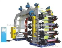 2011 RZGS Series Eight-color High Speed Machinery Flexography Digital Printing Machine
