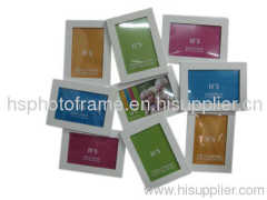 Wooden Photo Frame 4X6-9 Opening White Colour