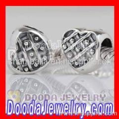 european Heart Charm Silver Wholesale