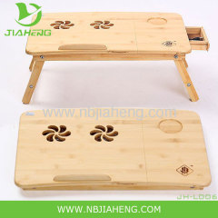 Popular Fold Bamboo Laptop Table Adjustable