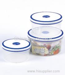 Airtight Plastic Food Container Set