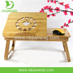Modern Folding Bamboo Portable Lap Top Desk