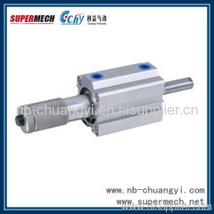 SDAJ adjustable stroke compact pneumatic air cylinder manufacture