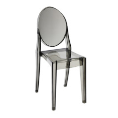 Clear Victoria Ghost side chairs dining room furnitures