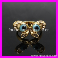 Silver & gold jewelry imitation rings 1340138
