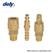 LX-MA america large flow type quick coupler(brass)